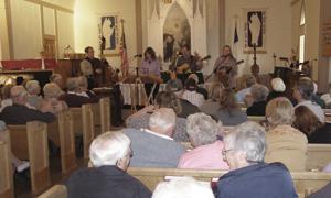 Aardahl Lutheran Church - Interior Worship Service